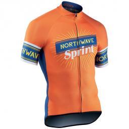 Northwave Sprint S-es kerékpáros rövid ujjú mez 2019