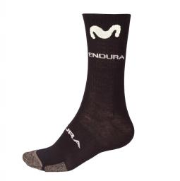 Endura Movistar Team Winter Sock (Single) téli kerékpáros zokni 2019