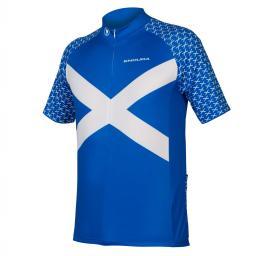 Endura CoolMax® Printed Scotland Jersey II rövid ujjú mez 2019