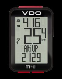 VDO M4.1 WL vezeték nélküli kilométeróra pedálfordulat opcióval 2019