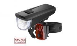 Kellys Noble USB kerékpár lámpa szett 2020