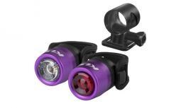 Kellys IO USB kerékpár lámpa szett 2020
