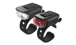 Kellys Vega USB kerékpár lámpa szett 2020