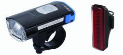 BBB Swatcombo (BLS-106) kerékpár lámpa szett 2020