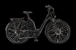 Winora Sinus Tria 7eco fekete monotube túratrekking e-bike 26