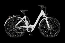 Winora Sinus Tria 7eco fehér monotube túratrekking e-bike 26