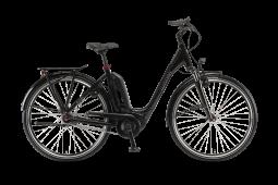Winora Sinus Tria N7 eco monotube fekete túratrekking e-bike  2020