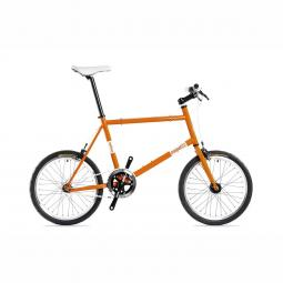 Csepel Royal Frisco 14 narancs fixi kerékpár 2020