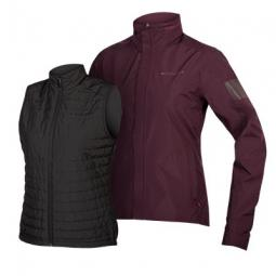 Endura Women's Urban 3 in 1 Jacket női esőkabát szett 2019