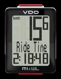 VDO M1.1 WR Kerékpár Computer Vezetékes 2017