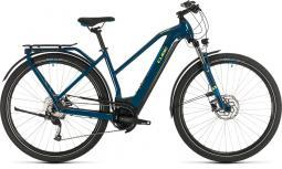 Cube Kathmandu Hybrid One 625 kék női túratrekking e-bike 2020