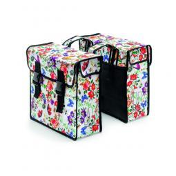 Basil Mara XL Double Bag mintás csomagtartótáska 2019