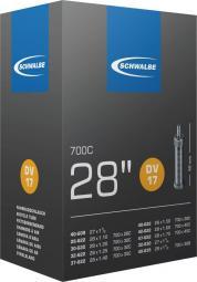 Schwalbe DV17 28/47-622/635 150G 40 mm Dunlop szelepes belső gumi 2020
