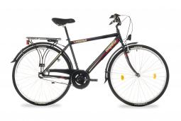 Csepel Landrider 28 N3 férfi fekete túratrekking kerékpár 2020