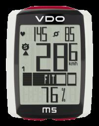 VDO M5 Kerékpár Computer Vezeték Nélküli 2017