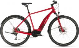 Cube Cross Hybrid One 400 Allroad piros cross trekking e-bike 2020
