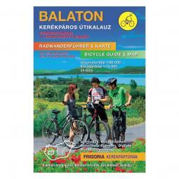 Frigoria Balaton kerékpáros térkép és útikalauz 2019