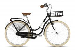 Kellys Royal Dutch Black városi kerékpár 2019
