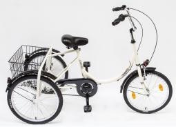 Csepel Camping N3 acél 3 kerekű városi kerékpár 2019