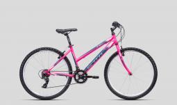 CTM Stefi 1.0 pink-kék női MTB 26