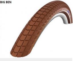 Schwalbe 28x2.00 Big Ben Act HS439 KG SBC barna Ref TW 890 g 29 coll MTB külső gumi 2020