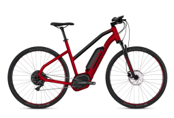 Ghost Hybrid Square Cross B4.9 Woman Ebike 2018