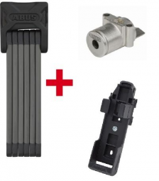ABUS 6015/120 Bordo Big SH (+ ABUS Plus cilinder Bosch akkuhoz IT(Gen 2) Powertube vázcsőbe) hajtogatható zár 2018