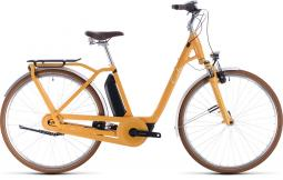 Cube Ella Cruise Hybrid 400 sárga női city e-bike 2020