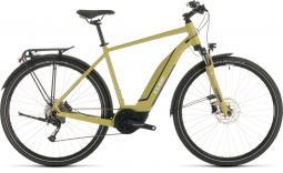 Cube Touring Hybrid One 400 zöld túratrekking e-bike 2020