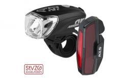 Kellys KLS Perseus USB Set kerékpár lámpa szett 2019