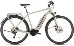 Cube Touring Hybrid Pro 500 szürke túratrekking e-bike 2020