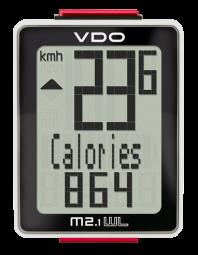 VDO M2.1 WR Kerékpár Computer Vezetékes 2017