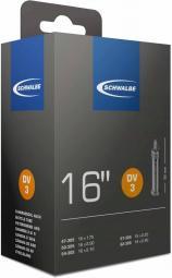 Schwalbe DV3 16X1,75-2,40 115G 32 mm Dunlop szelepes belső gumi 2020